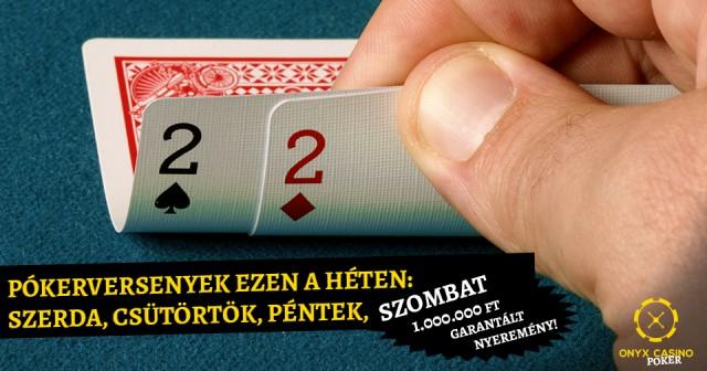 Pokerversenyek_ezen a héten__SzerdaCsütörtökPéntekSzombat